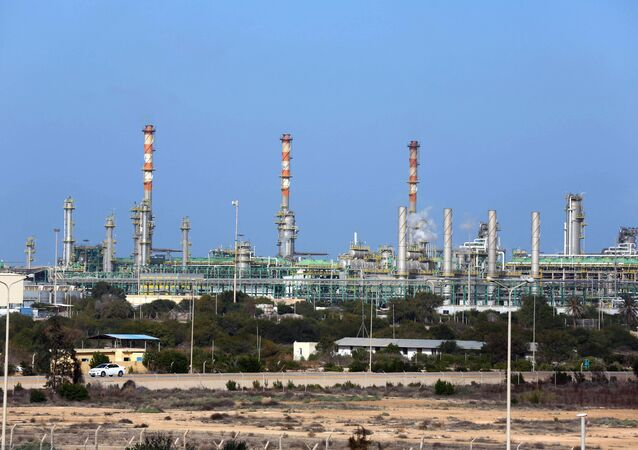 Terminal pétrogazier de Mellitah, non loin de Zouara