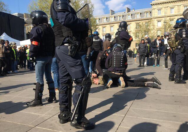 Acte 22 des Gilets jaunes à Paris, 13 avril 2019