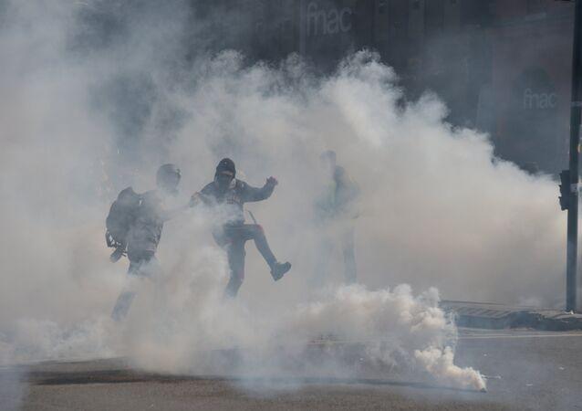 Acte 22 des Gilets jaunes à Toulouse, le 13 avril