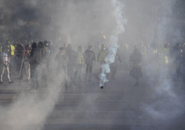 Toulouse sous les gaz, le 13 avril