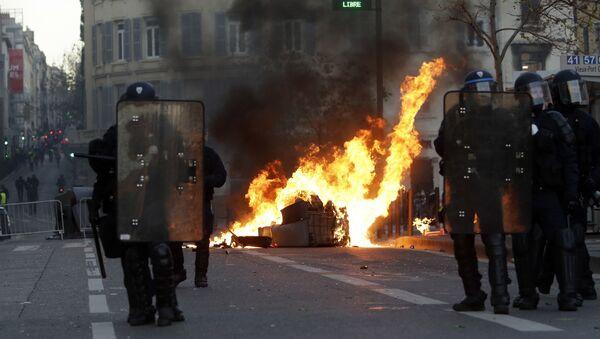 Protestations à Marseille en décembre 2018 - Sputnik France