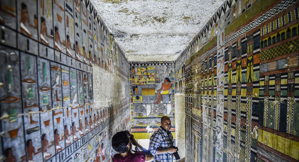 Le tombeau de Khuwy