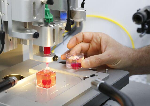 Un coeur artificiel imprimé en 3d à l'Université de Tel Aviv