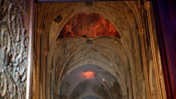 Intérieur de Notre-Dame après lincendie - Sputnik France