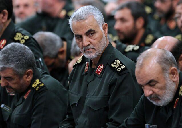 le général iranien Qasem Soleimani du Corps des Gardiens de la révolution islamique