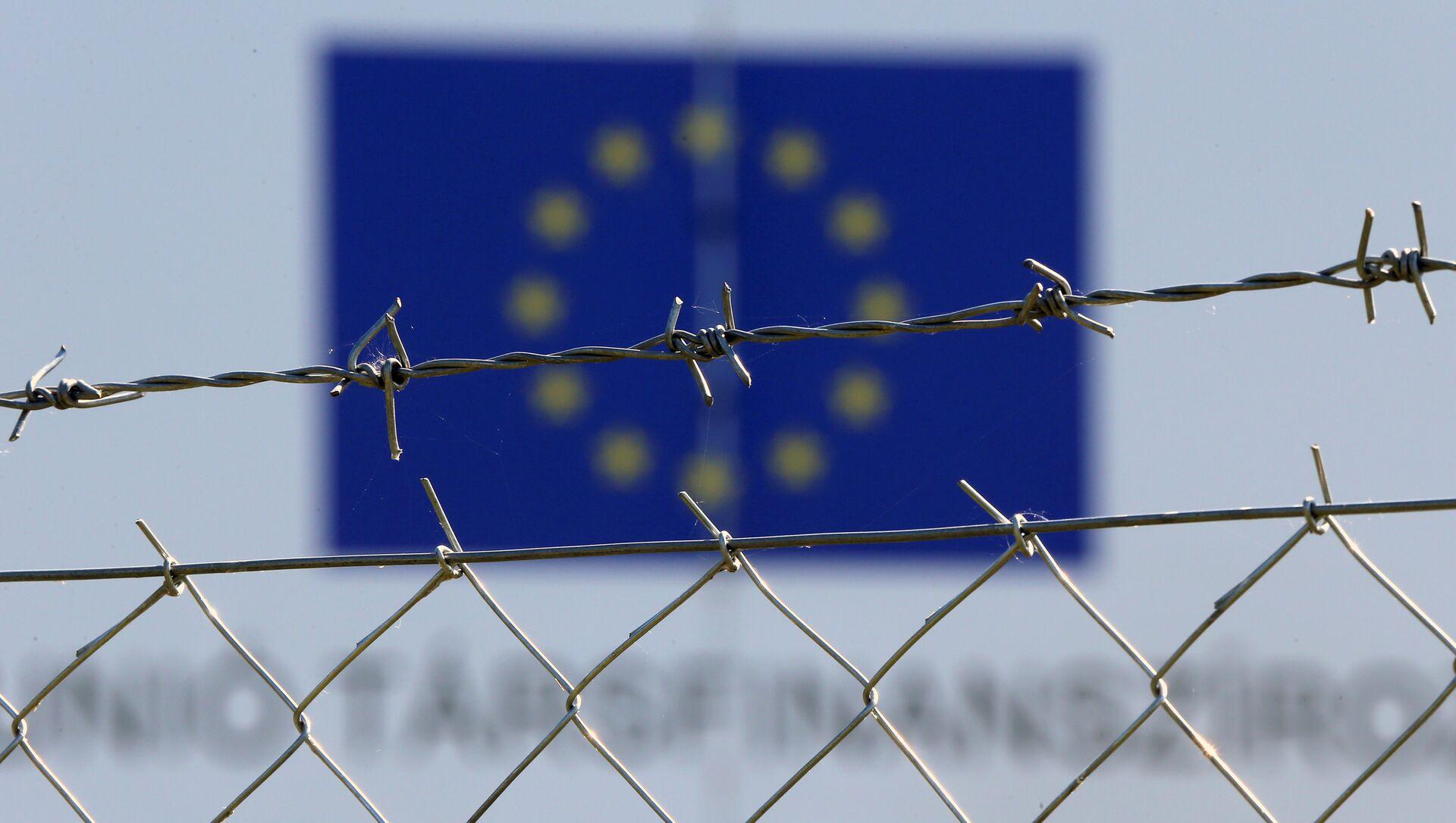 Une clôture de barbelés de 259 km à la frontière avec la Turquie - Sputnik France, 1920, 26.08.2021