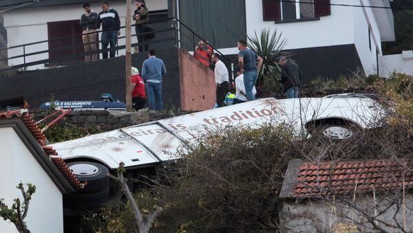 accident de bus au Portugal - Sputnik France