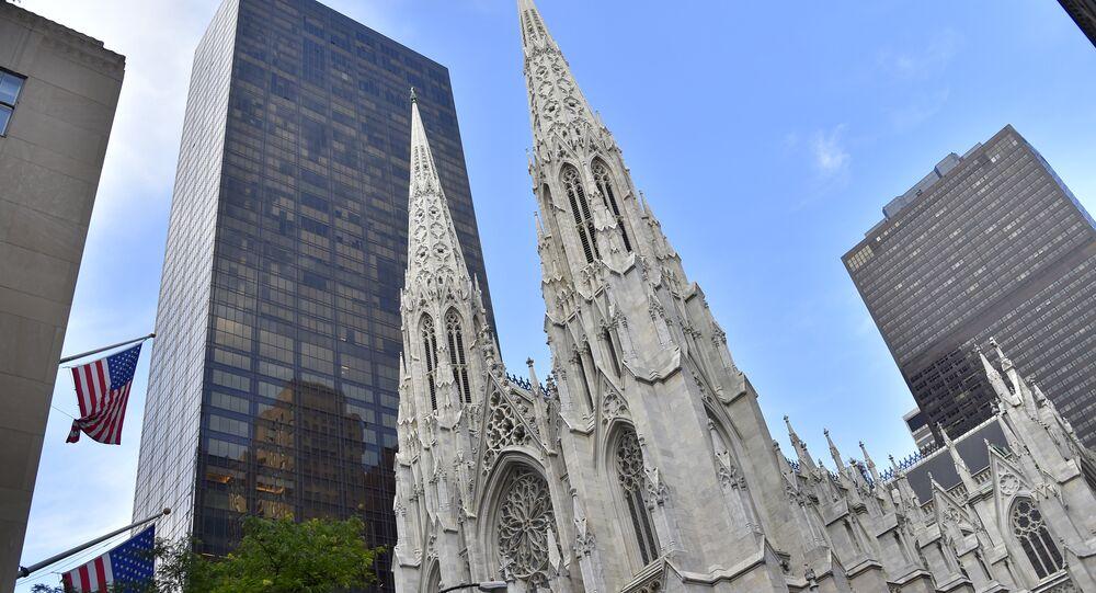 La cathédrale de Saint-Patrick de New York