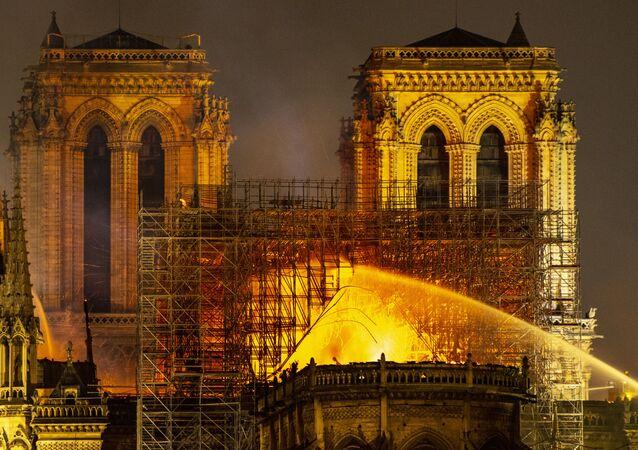 L'incendie de Notre-Dame de Paris