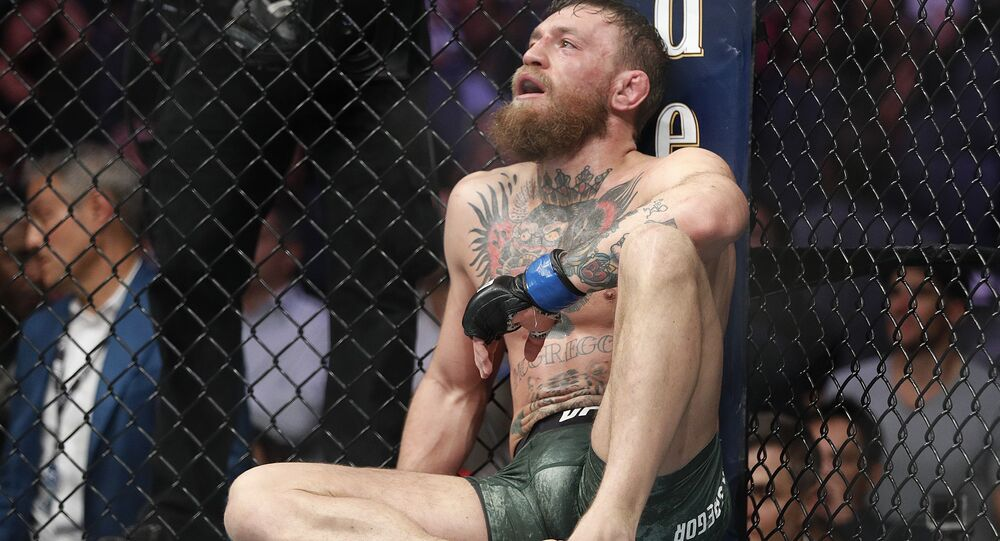 Conor McGregor, photo d'archives