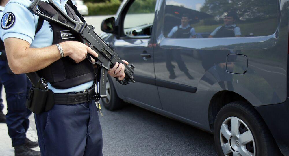 Des gendarmes (image d'illustration)