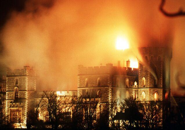 Le 20 novembre 1992, un incendie s'est déclaré à Windsor, la résidence d'été des monarques britanniques, dans le Berkshire