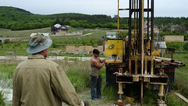 Бурение скважин для добычи воды в частном секторе Крыма - Sputnik France