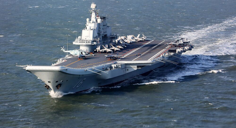 Le porte-avions chinois Liaoning (archive photo)