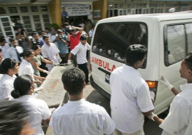 Ambulance au Sri Lanka