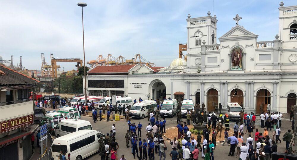 Explosions à Colombo, Sri Lanka