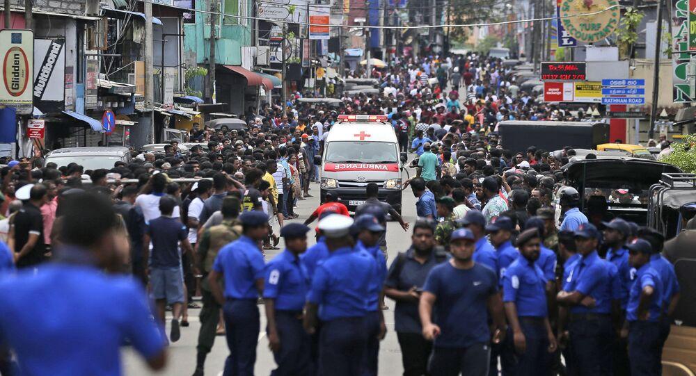 Situation au Sri Lanka après les attentats