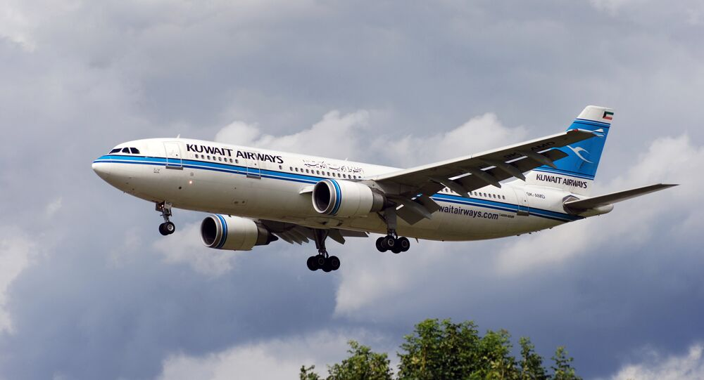 Un avion de Kuwait Airways (image d'illustration)