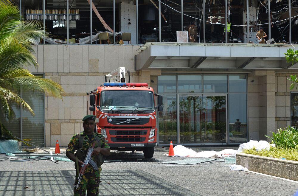 Conséquences de la série d'explosions au Sri Lanka