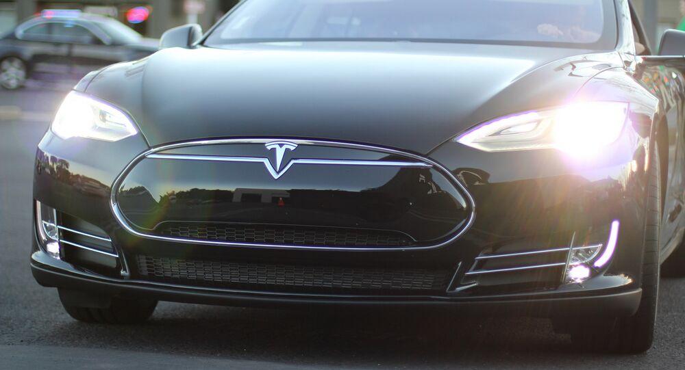 Une Tesla Model S