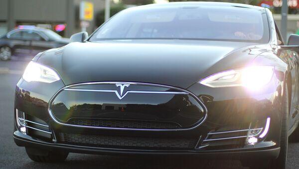 Une Tesla Model S - Sputnik France