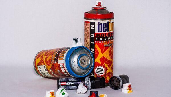 Bombes de peinture, image d'illustration - Sputnik France