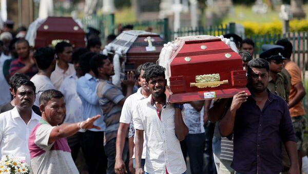 Les cercueils de victimes des attaques du 21 avril 2019 au Sri Lanka - Sputnik France