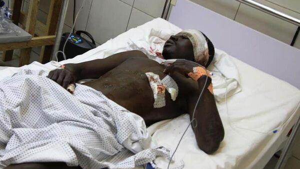 Hôpital à Maroua, après une attaque à la bombe au village de Mora, le 21 août 2006 - Sputnik France