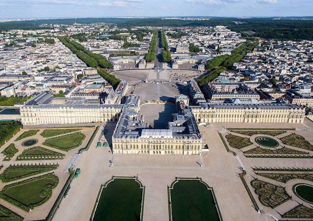 Versailles vue du ciel