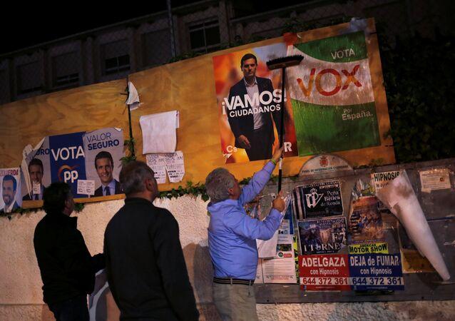 A l'approche des élections législatives anticipées de 2019 en Espagne