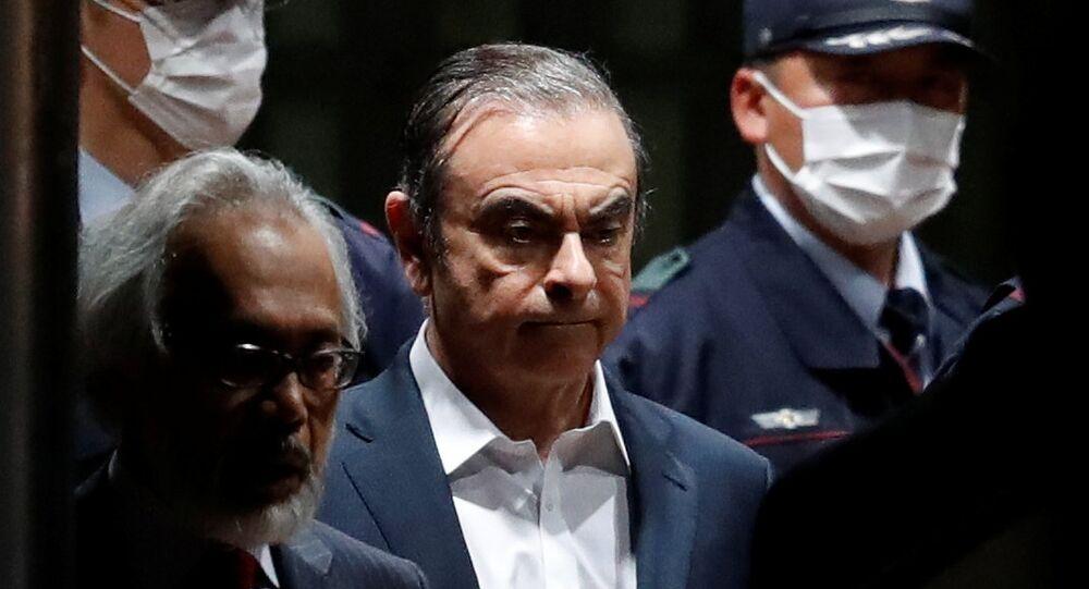 Carlos Ghosn quitte la prison