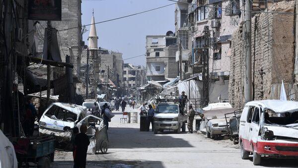 Ситуация в сирийском городе Дума - Sputnik France