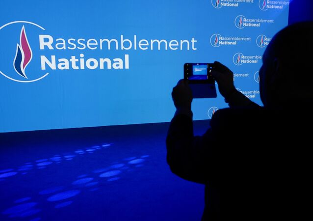 Rassemblement National, logo