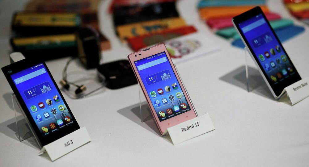 Trois modèles de smartphone Xiaomi Mi