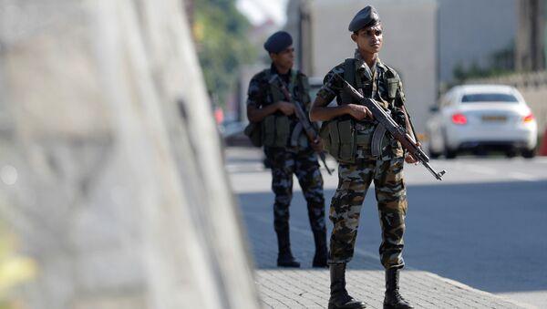 des militaires srilankais - Sputnik France