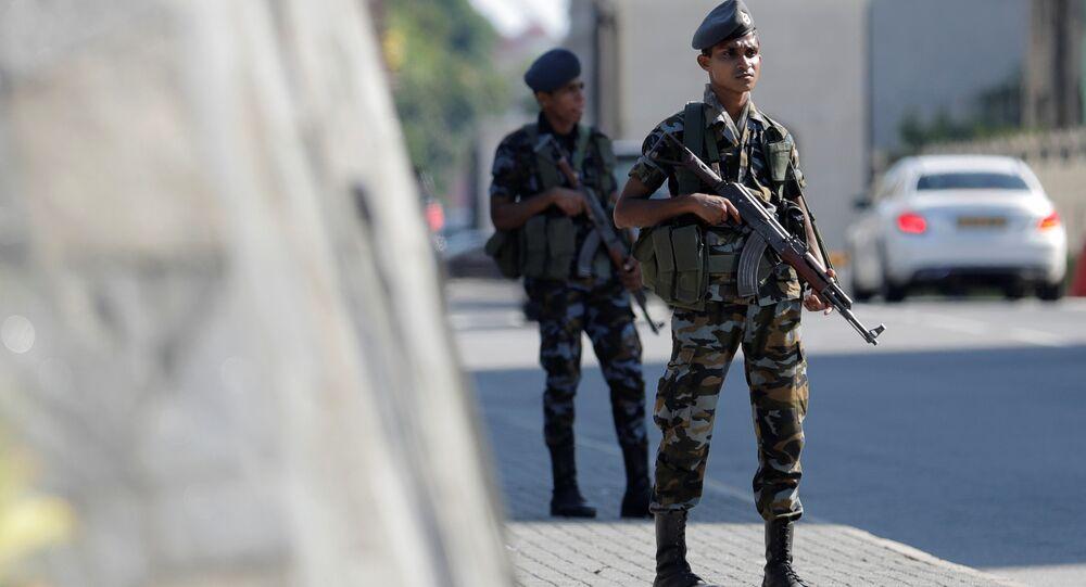 des militaires srilankais