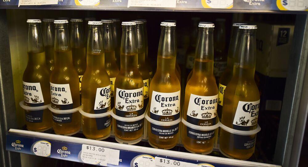 Corona, une bière mexicaine