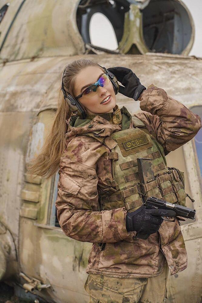 Les plus belles représentantes de la Garde Nationale russe