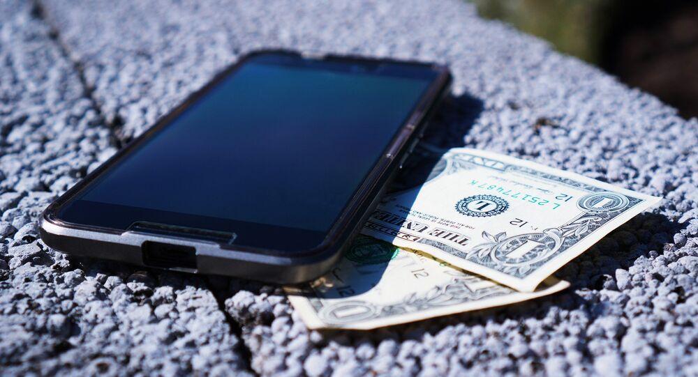 Smartphone et argent