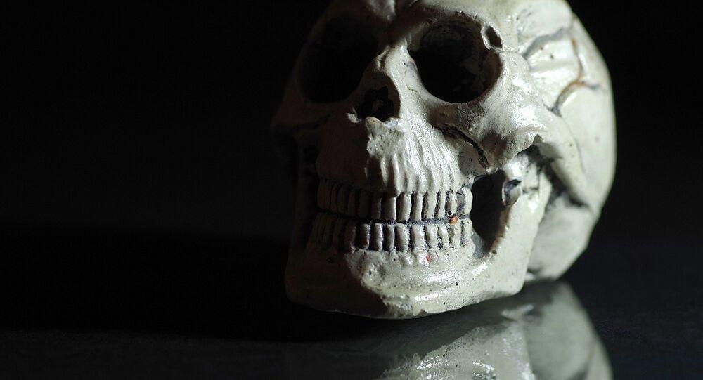 Un crâne (image d'illustration)