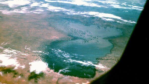 Lake Chad from Apollo 7 - Sputnik France