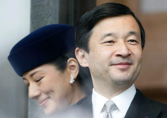 Naruhito et sa femme Masako (archives)