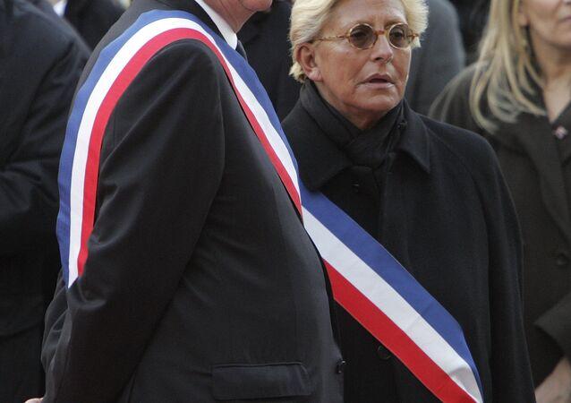 Patrick Balkany avec sa femme Isabelle