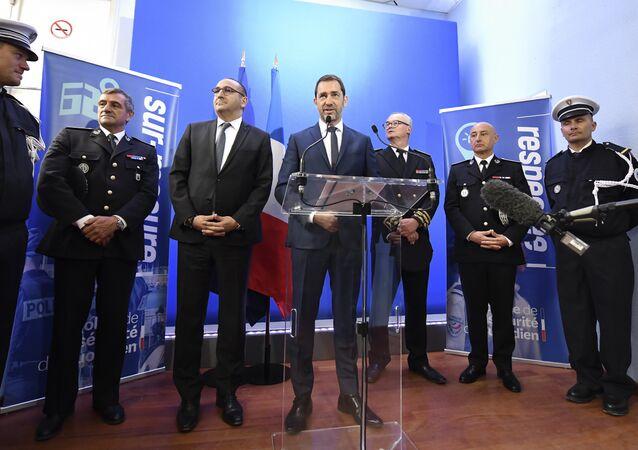 Christophe Castaner et Laurent Nuñez à Toulon