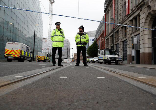 Des policiers de Manchester (archives)