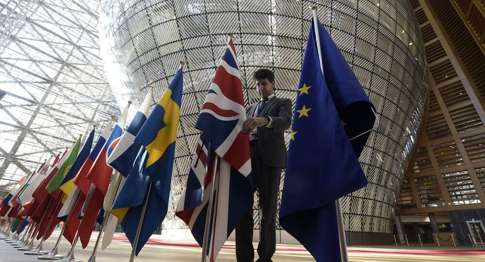 Le bâtiment Europe, siège du Conseil de l'UE, à Bruxelles (photo d'archives)