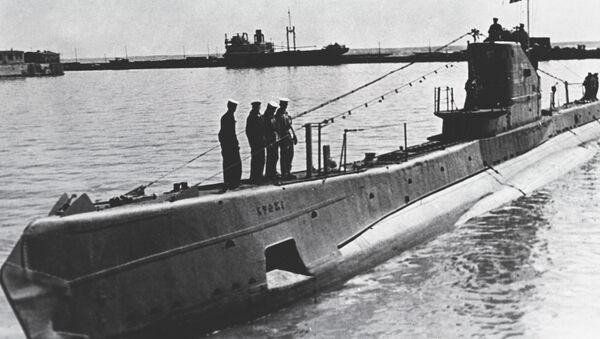 Un sous-marin soviétique de classe Chtchouka - Sputnik France