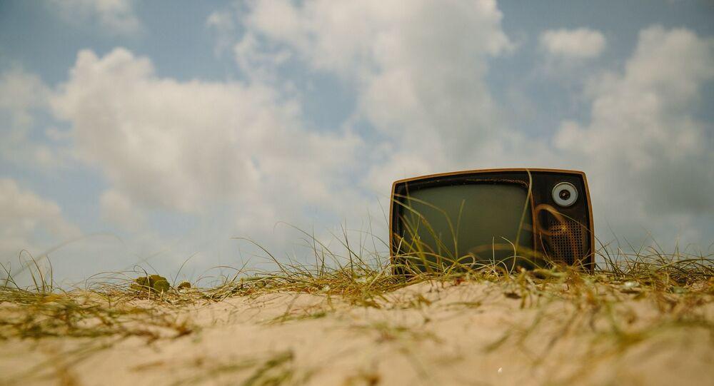 Un poste de télévision