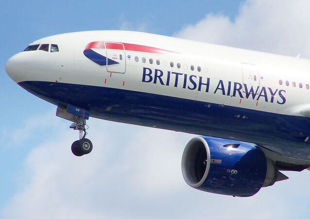 Un Boeing 777 de British Airways