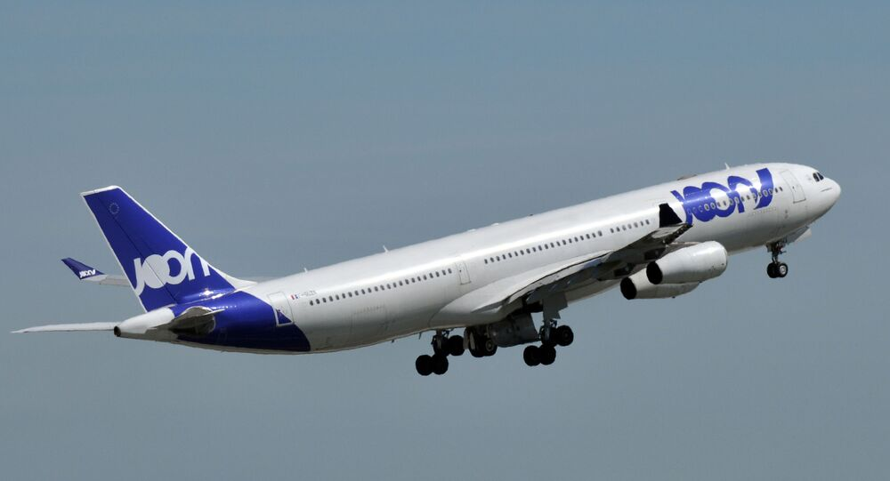 Un Airbus A-340 de Joon (Air France)